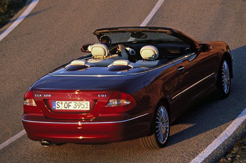 Mercedes-Benz CLK-klasse Cabrio